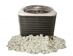 AC-unit-and-cash-pile